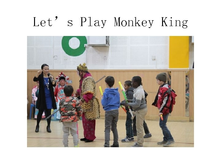 Let's Play Monkey King