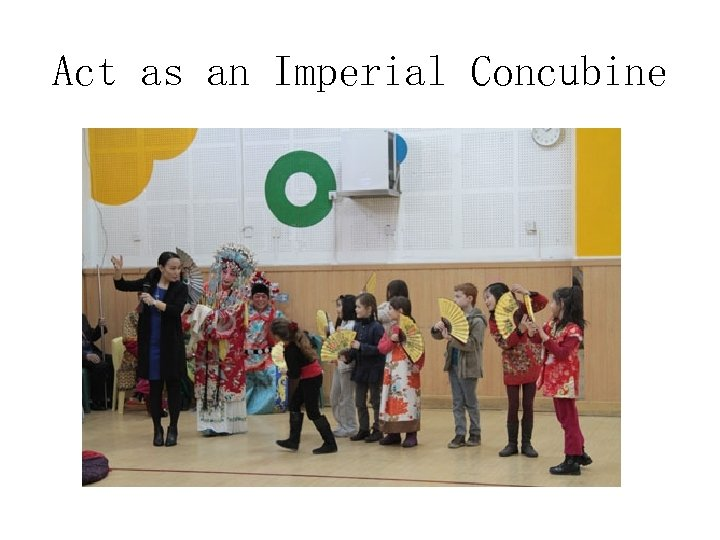 Act as an Imperial Concubine