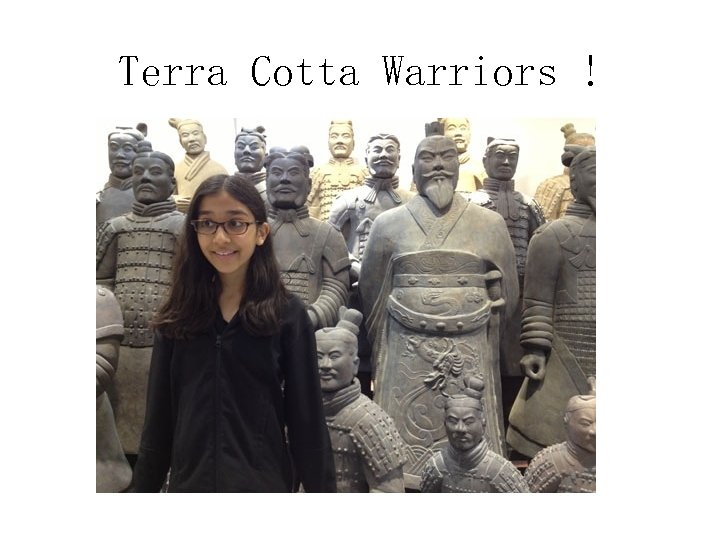 Terra Cotta Warriors !