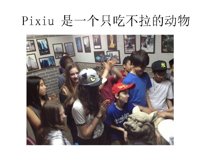 Pixiu 是一个只吃不拉的动物