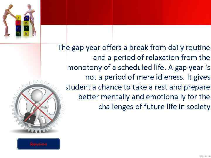 the possibilities of the gap year essay Gap years when used productively can be an effective alternative to going straight to post with so many possibilities out there it can be extremely overwhelming many simply aren't ready to the gap-year should be considered by all graduating seniors because it gives them a chance to learn a.