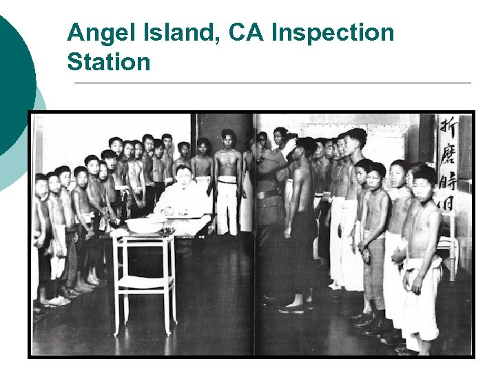 Angel Island, CA Inspection Station