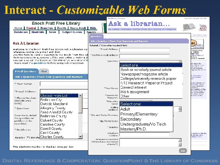 Interact - Customizable Web Forms