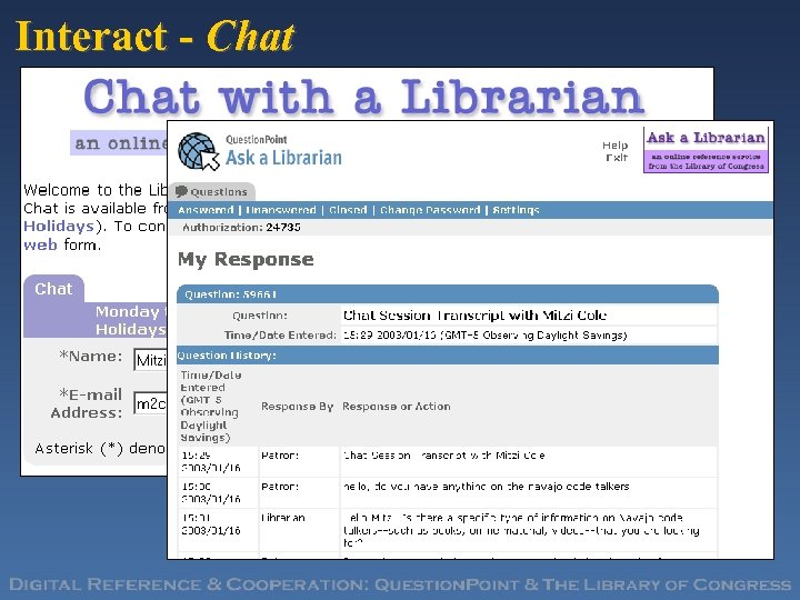 Interact - Chat