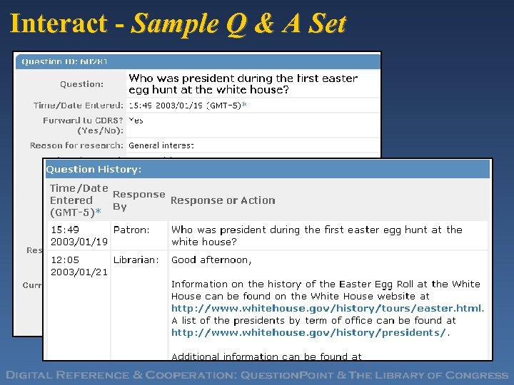 Interact - Sample Q & A Set