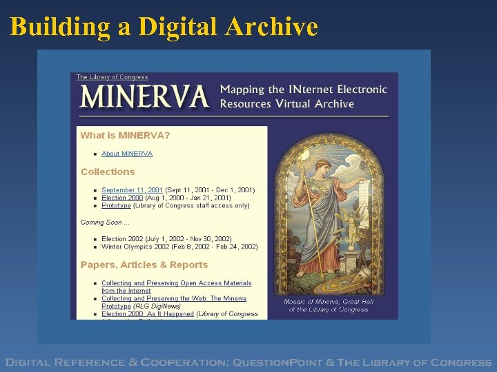 Building a Digital Archive
