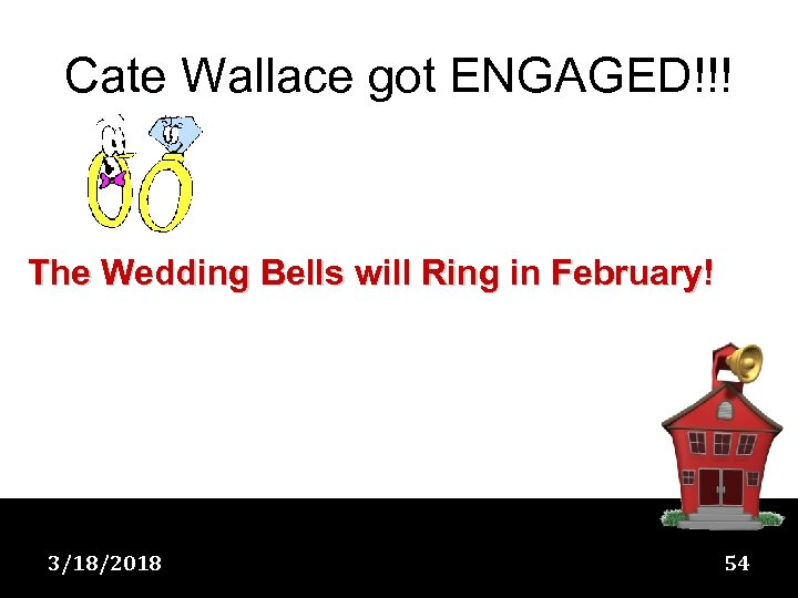 Cate Wallace got ENGAGED!!! The Wedding Bells will Ring in February! 3/18/2018 54