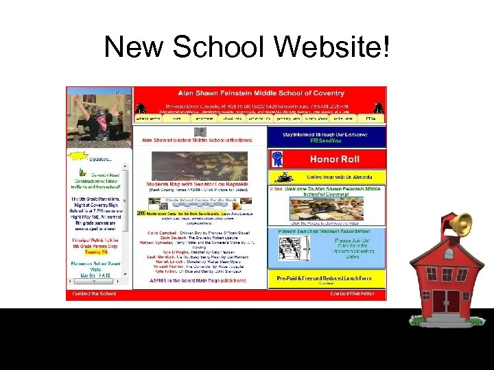 New School Website!