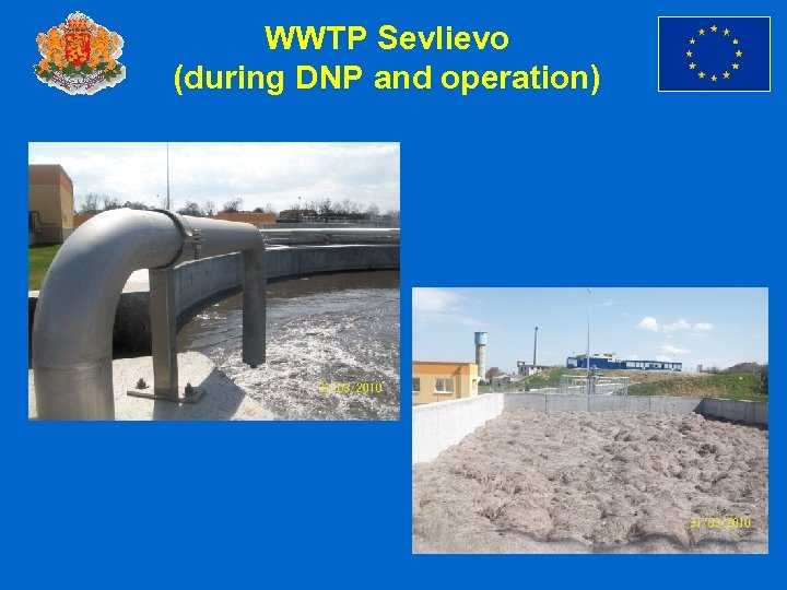 WWTP Sevlievo (during DNP and operation)