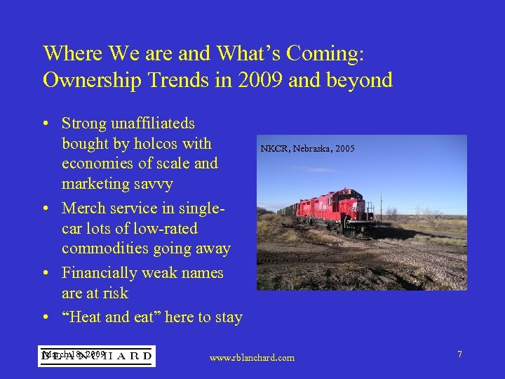 Where We are and What's Coming: Ownership Trends in 2009 and beyond • Strong