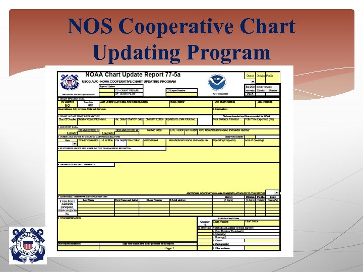 NOS Cooperative Chart Updating Program