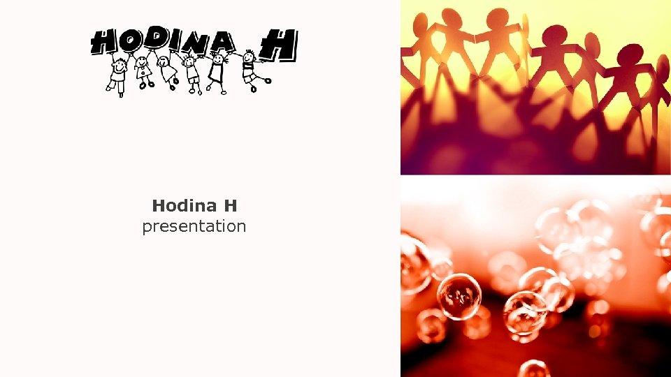 Hodina H presentation