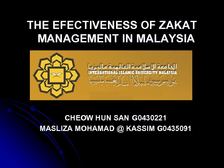 localization of the zakat management Premise : localization of zakat distribution adds efficiency and hence helps alleviate poverty hypothesis : for achieving sustained poverty eradication, the mosque should play the role as a local muslim institution that has a very close relationship with the local muslim community.