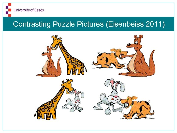 Contrasting Puzzle Pictures (Eisenbeiss 2011)