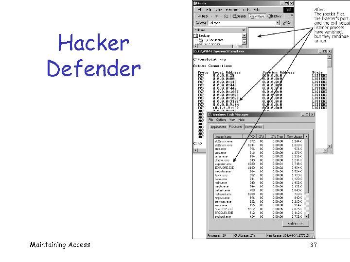 Hacker Defender Maintaining Access 37