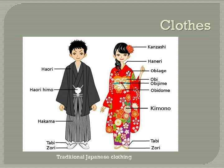 Clothes Traditional Japanese clothing