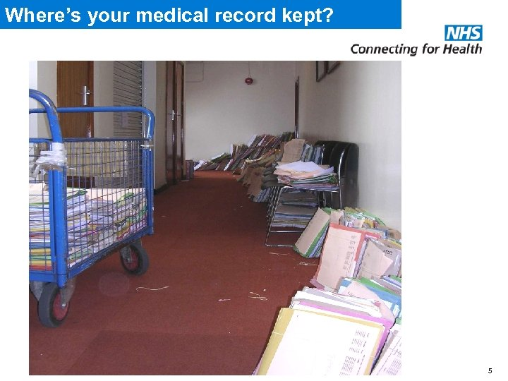 Where's your medical record kept? 5