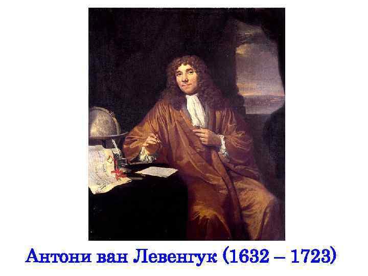 Антони ван Левенгук (1632 – 1723)