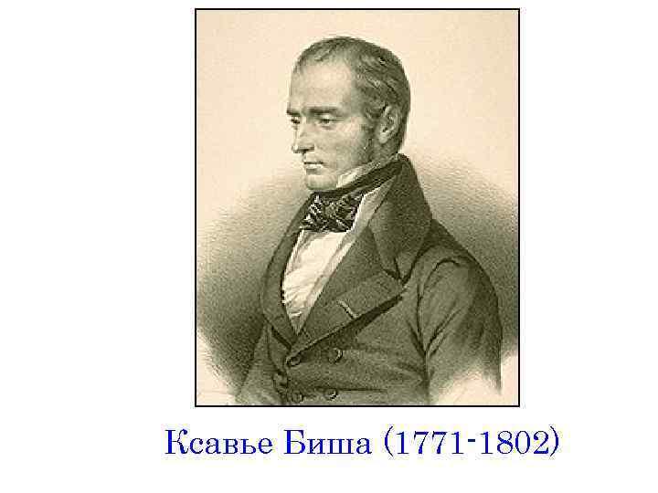 Ксавье Биша (1771 -1802)