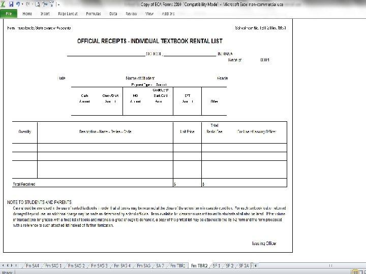 Textbook Rental