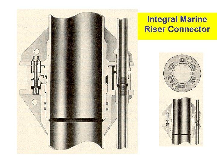 Integral Marine Riser Connector 6
