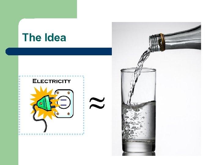The Idea ≈