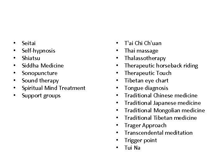 • • Seitai Self-hypnosis Shiatsu Siddha Medicine Sonopuncture Sound therapy Spiritual Mind Treatment