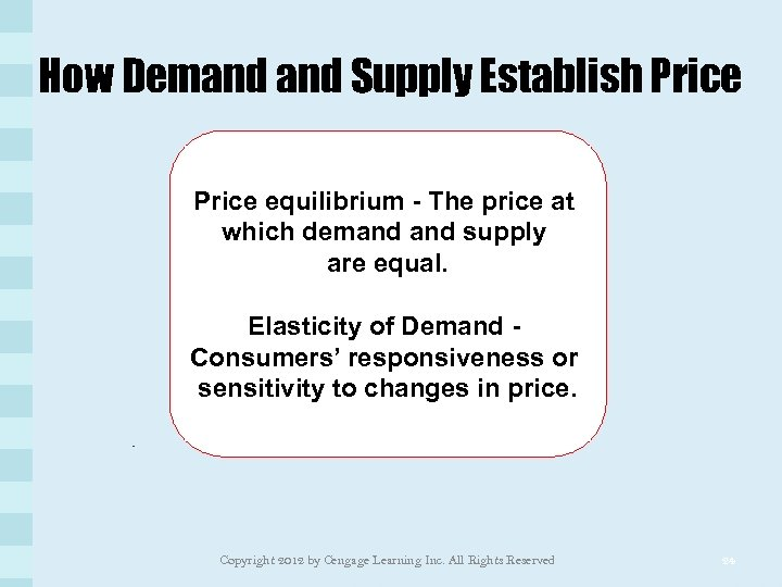 How Demand Supply Establish Price equilibrium - The price at which demand supply are