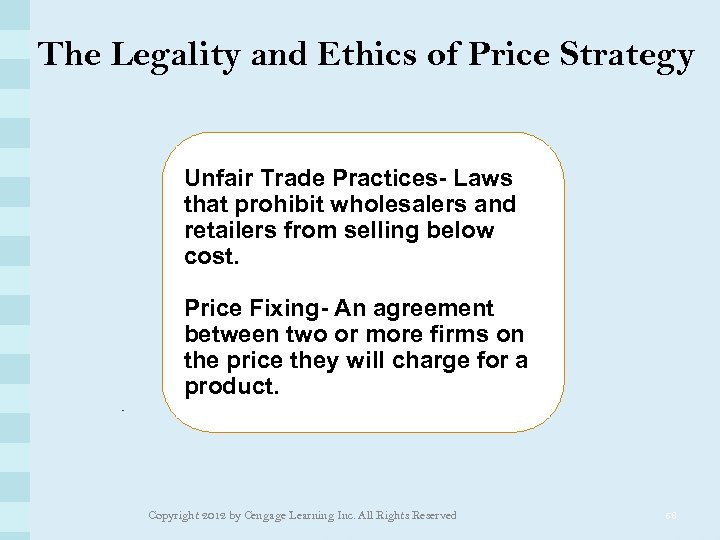The Legality and Ethics of Price Strategy Unfair Trade Practices- Laws that prohibit wholesalers