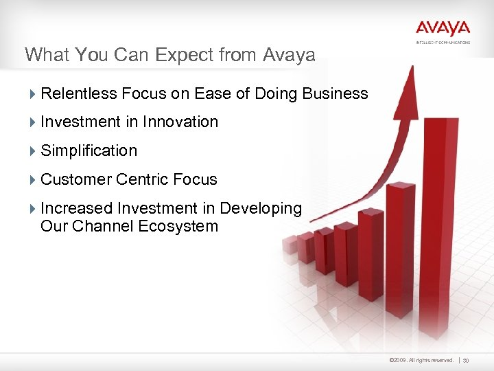 What You Can Expect from Avaya 4 Relentless Focus on Ease of Doing Business