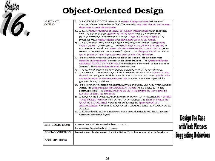 Object-Oriented Design 26