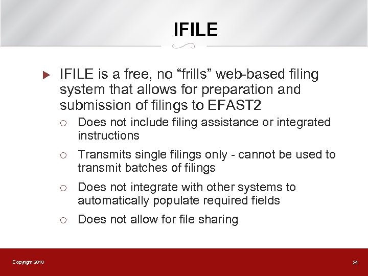 """IFILE u IFILE is a free, no """"frills"""" web-based filing system that allows for"""