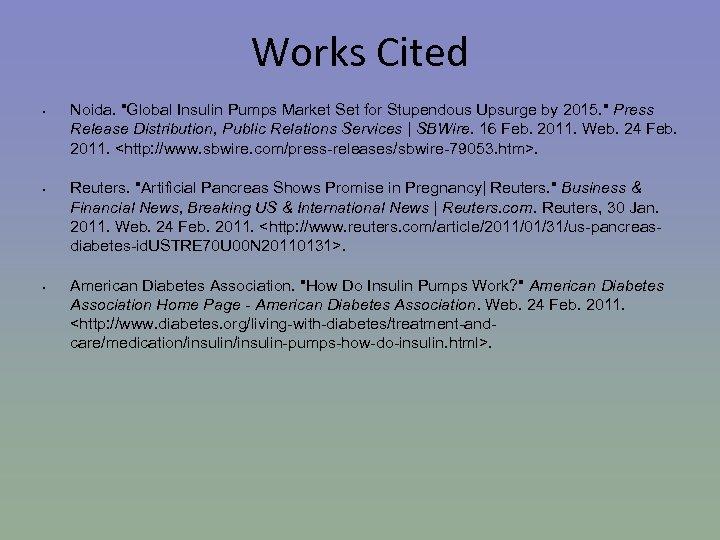 Works Cited • • • Noida.