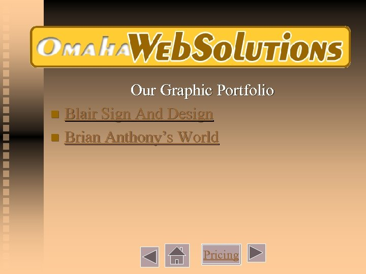 Our Graphic Portfolio n Blair Sign And Design n Brian Anthony's World Pricing