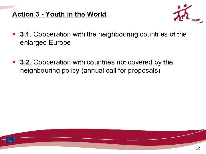 Action 3 - Youth in the World § 3. 1. Cooperation with the neighbouring
