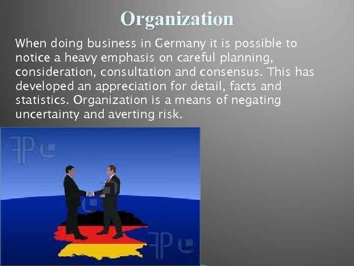 Doing Business in Germany Iryna Oleksynska Doing
