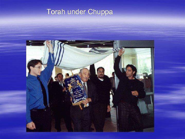 Torah under Chuppa