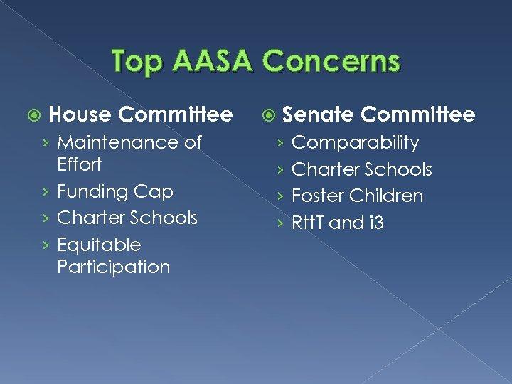 Top AASA Concerns House Committee › Maintenance of Effort › Funding Cap › Charter