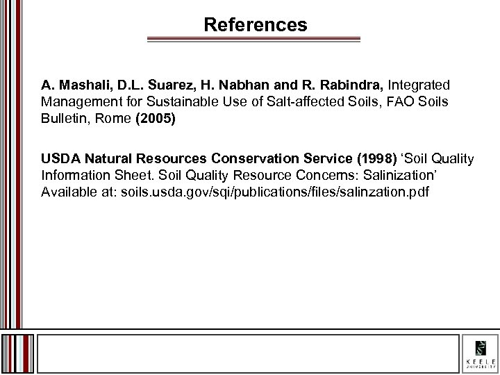 References A. Mashali, D. L. Suarez, H. Nabhan and R. Rabindra, Integrated Management for