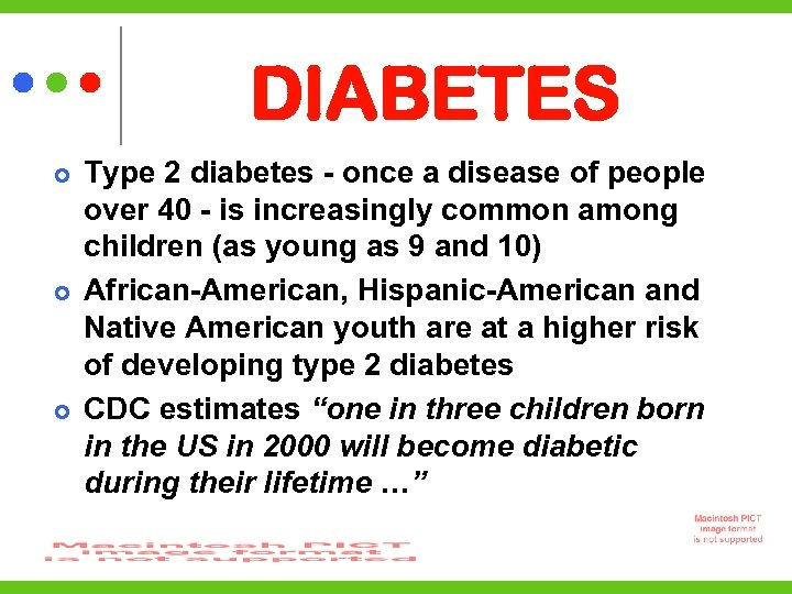 DIABETES Type 2 diabetes - once a disease of people over 40 - is
