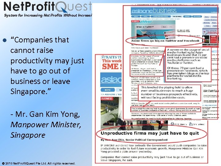 """System for Increasing Net Profits Without Increasing Marketing Budgets l """"Companies that cannot raise"""