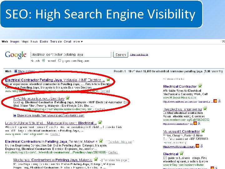 SEO: High Search Engine Visibility System for Increasing Net Profits Without Increasing Marketing Budgets