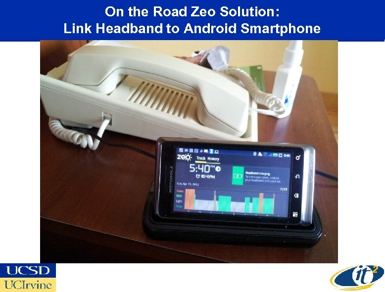 On the Road Zeo Solution: Link Headband to Android Smartphone