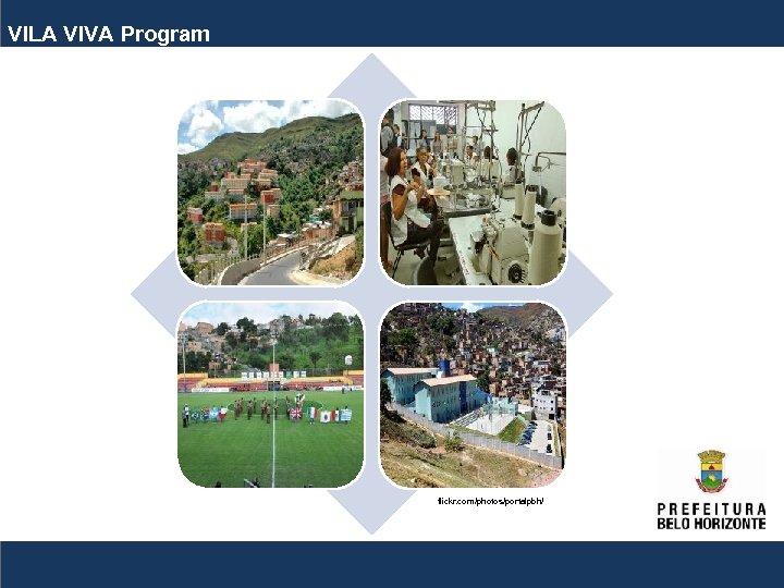 VILA VIVA Program flickr. com/photos/portalpbh/
