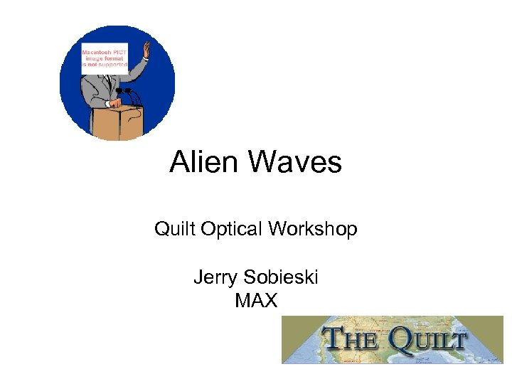 Alien Waves Quilt Optical Workshop Jerry Sobieski MAX