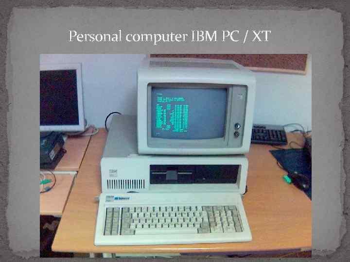 Personal computer IBM PC / XT