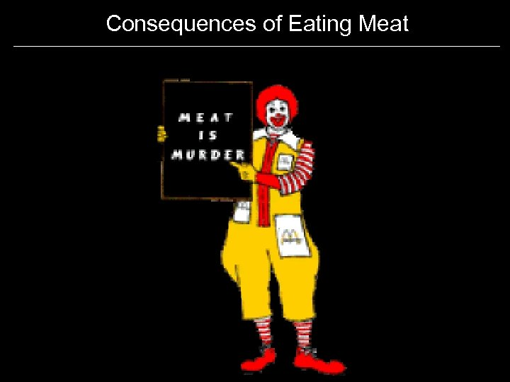 Consequences of Eating Meat