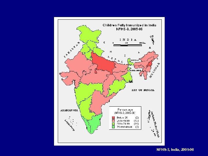NFHS-3, India, 2005 -06