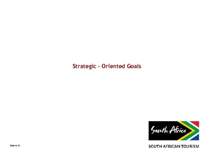 Strategic - Oriented Goals Slide no 31