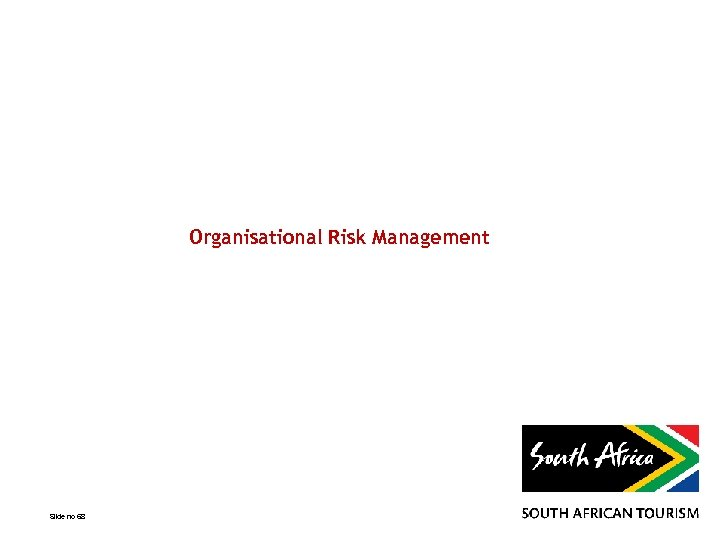 Organisational Risk Management Slide no 68